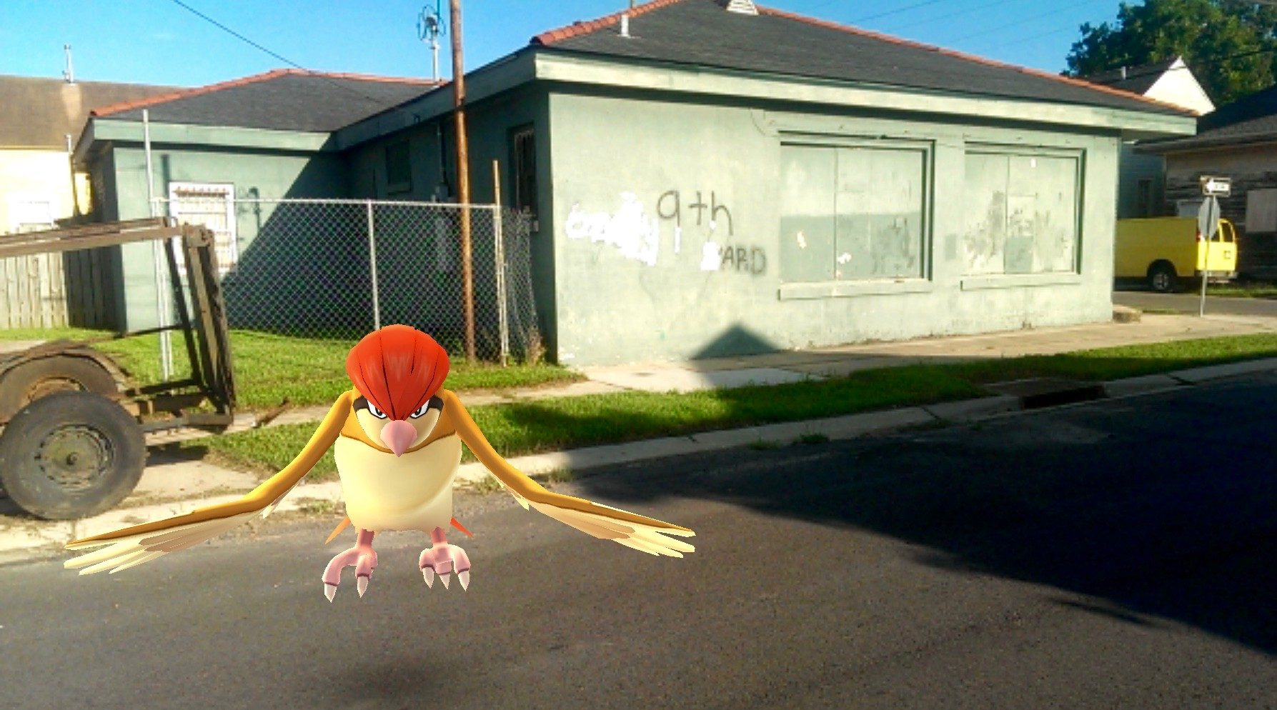 Pokemon in the Ninth Ward